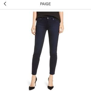 Paige Hoxton Ultra Skinny Ankle Jeans